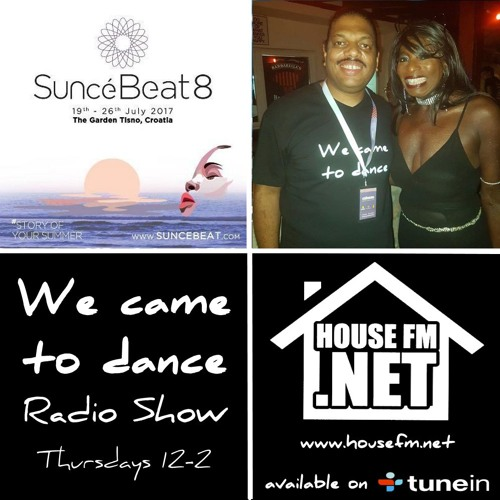 SunceBeat 8 Special - The We Came To Dance Radio Show - 27th July 2017