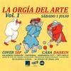 """""""Sin Titulo"""" En Vivo en La Orgía del Arte vol. 1"""