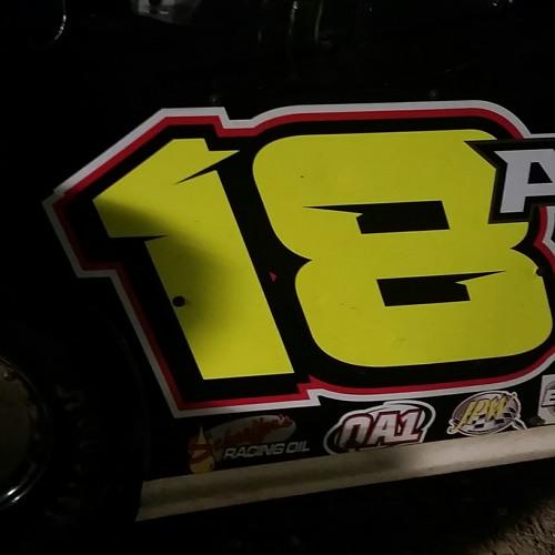 Landon Atkinson Mod winner at Granite City Speedway