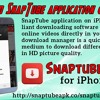 Download SnapTube Application On iPhone