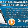 SnapTube Video Downloader For iPhone And iOS Device