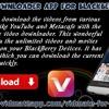 Vidmate Downloader App For BlackBerry Devices