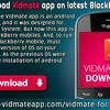 How To Download Vidmate App on latest BlackBerry Mobiles?