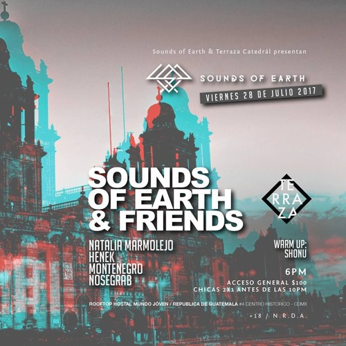 Montenegro - DJ Set @ Sounds Of Earth & Friends En Terraza