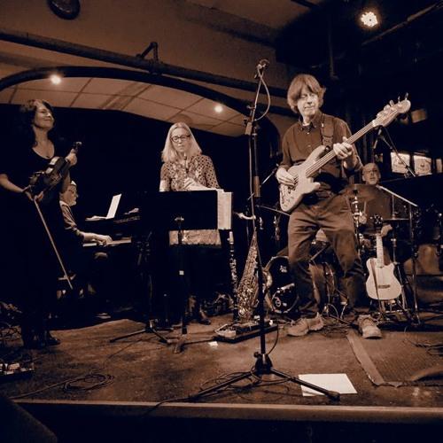 Futura Bold, live at the Jazz Room