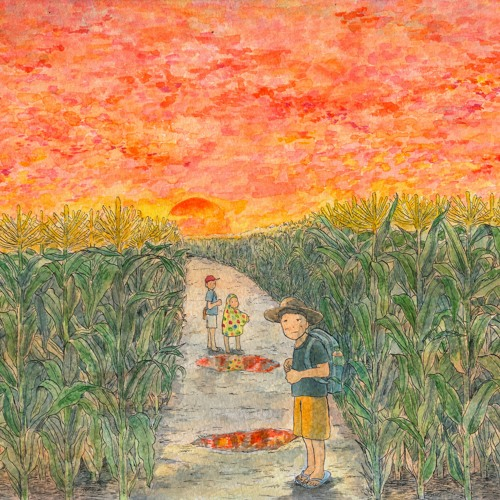 A Summer Day, in the Cornfield