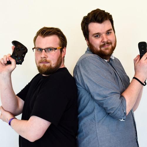 Jonas Nilsson och Pontus Nilsson älskar att prata i en spelpodd.
