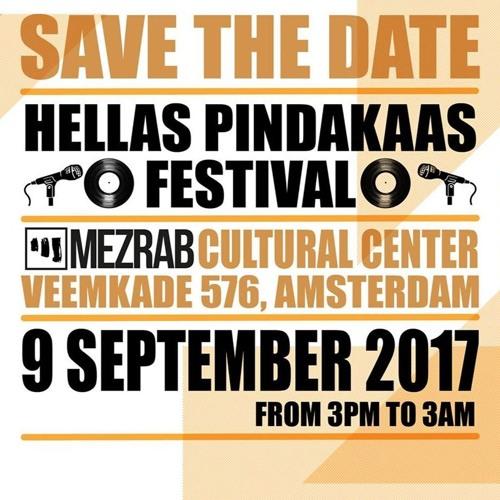 Hellas Pindakaas Festival - September 9 - Mezrab - Updates & Line up