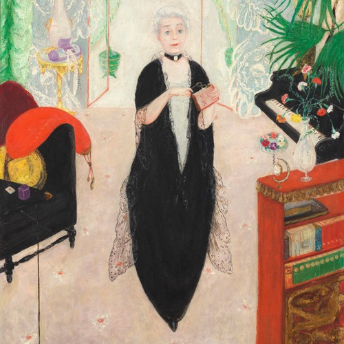 Verbal Description: Florine Stettheimer, Portrait of My Mother, 1925