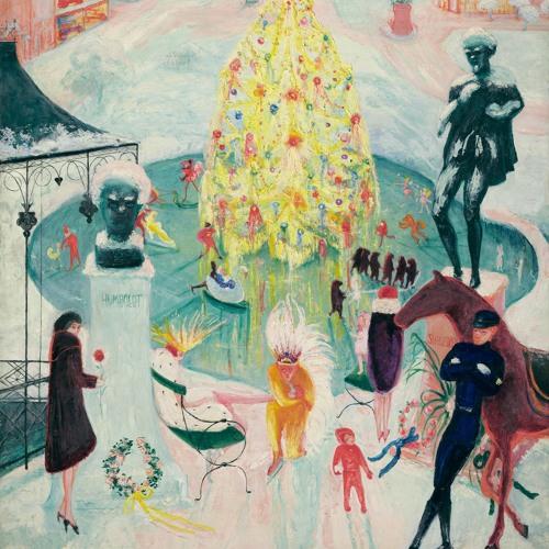 Verbal Description: Florine Stettheimer, Christmas, 1930