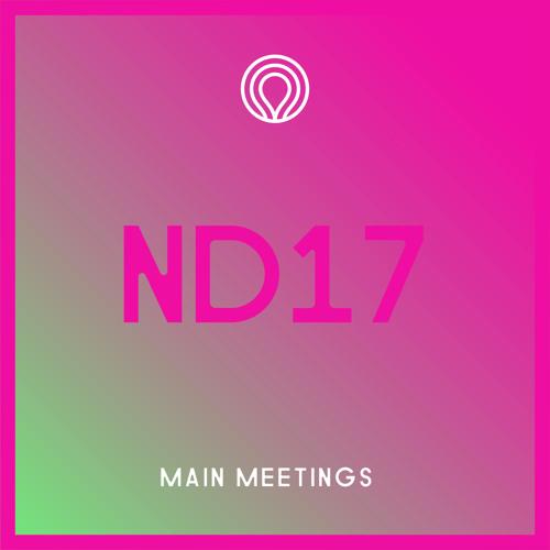 Newday 2017 Main Meetings