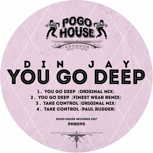 DIN JAY - Take Control (Paul Rudder Remix) PHR090 ll POGO HOUSE REC