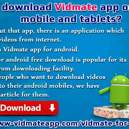 How To Download Vidmate App On Android Mobile And Tablets