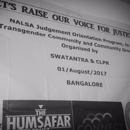 Active Bangalore- Exploring My NALSA Judgement with CLPR & Swatantra - RJ Shilok -Aashima -Jayna