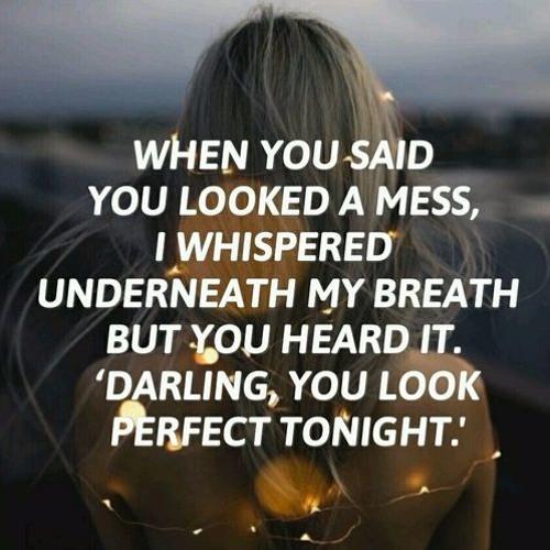 Perfect Ed Sheeran By Adeliabungaa
