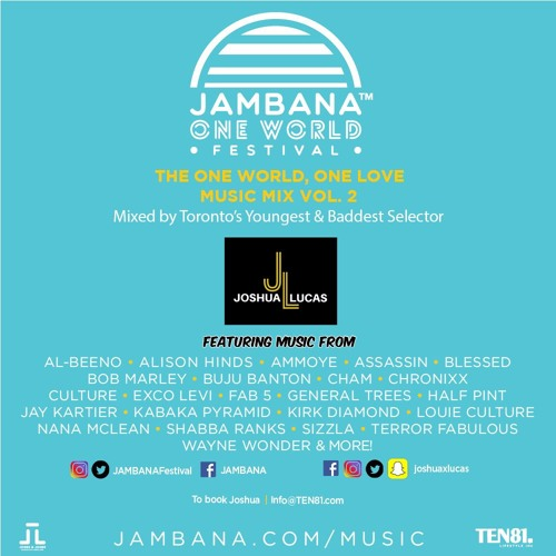 JAMBANA ONE WORLD FESTIVAL 2017 PROMO MIX