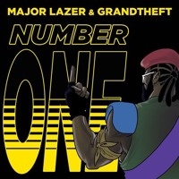 Major Lazer - Number One Feat. Grandtheft Artwork
