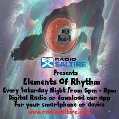Steve Dickson - Elements Of Rhythm Guest Mix (Radio Saltire) 5 - 8 - 17