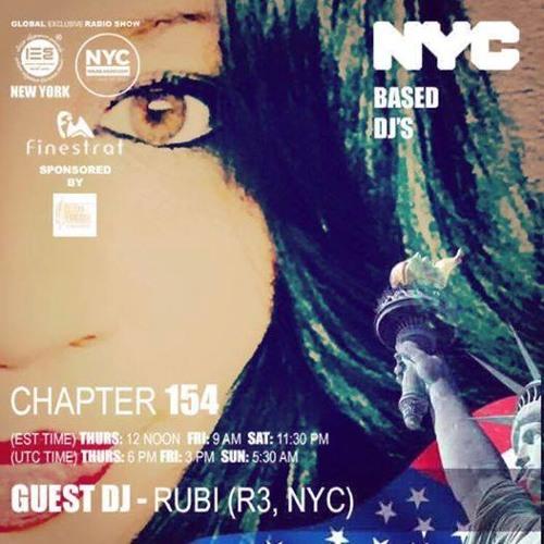 RUBI [R3] live on NYC HOUSE RADIO | VIC IORKA'S SHOW: IBIZA ELEGANCE SOUNDS #154 | JULY 24-30, 2017