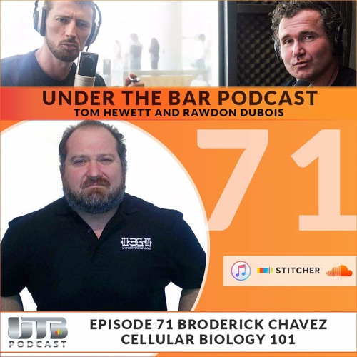 (WARNING EXPLICIT)The Evil Genius - Broderick Chavez on Ep. 71 of Under The Bar