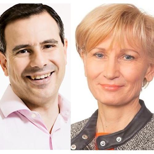Varapj -ehdokkaista äänessä Santi Martinez sekä Riitta Kuismanen