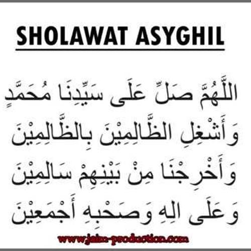 Sholawat Asyghil By Santi Nutri Yanti Playlists On Soundcloud