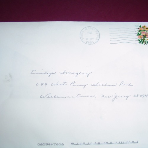 Letter to  Bradley - Aged 12