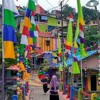 [SAGA KBR] Kampung Pelangi yang Digemari Pencari Selfie