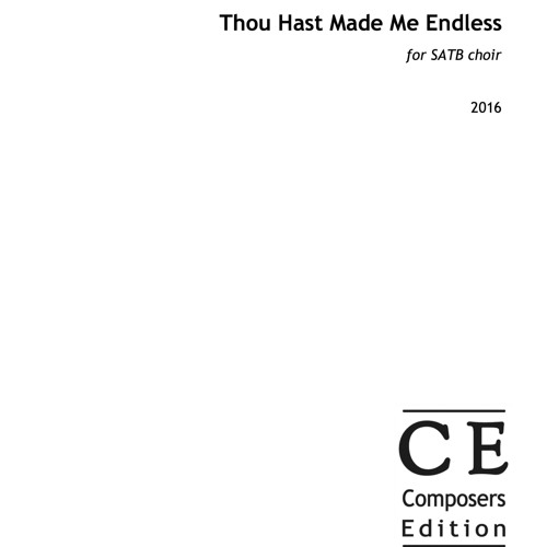 Thou Hast Made Me Endless - London Concord Singers, dir. Jessica Norton