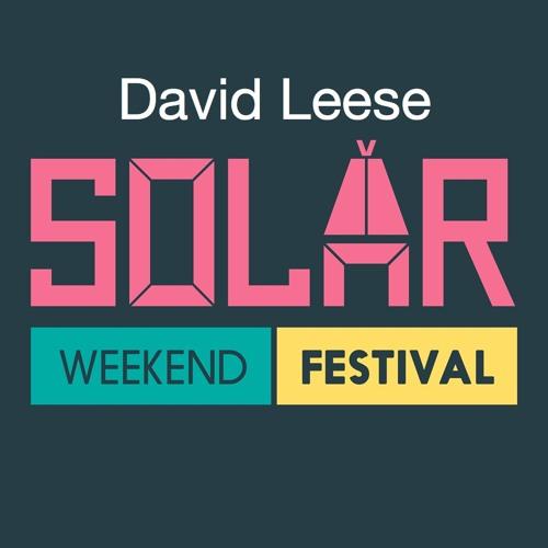 David Leese @ Solar Weekend Festival, Roermond (04-08-2017)