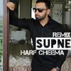 Supne (Full Song Remix) Harf Cheema | Deep Jandu | Latest Punjabi Songs 2017 | Remix By Gs Muzic