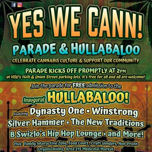 Yes We Cann Parade and Hullabaloo to Celebrate Cannabis
