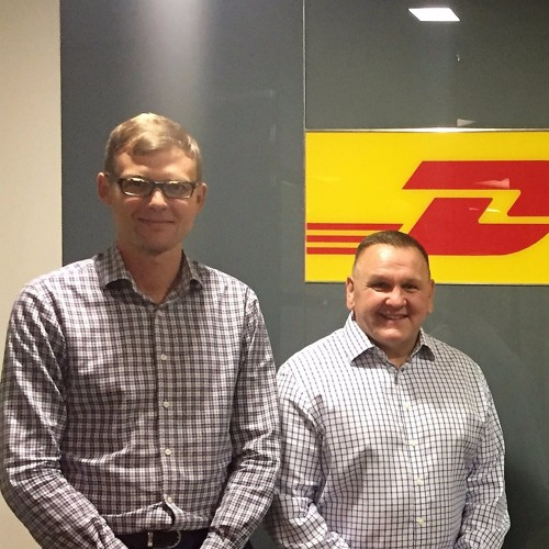 #02: The future of Logistics with Charles Brewer CEO DHL ecommerce