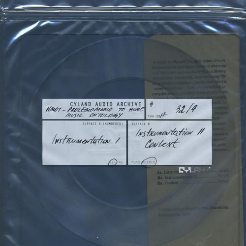 Prolegomena to Home Music Ontology, Instrumentation I