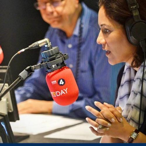 BBC Radio 4 Today: Roger Harrabin and Prof Peter Stott