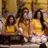 Jay Bajarangavali chanted by new yoga instructors