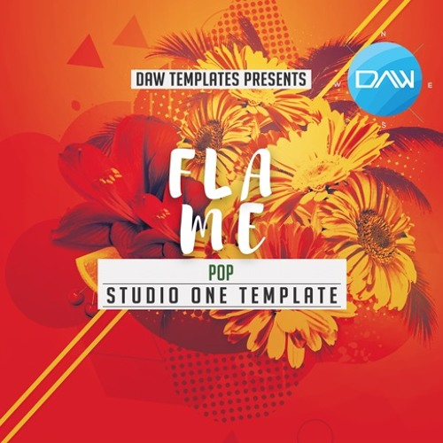Flame Studio One DAW Template