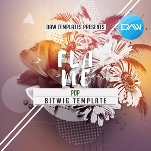 Flame Bitwig DAW Template