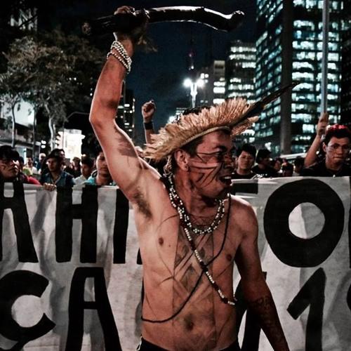 Líderes indígenas promovem manifestação contra risco do fim das demarcações