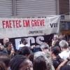 Pais de alunos apoiam greve dos professores da Faetec