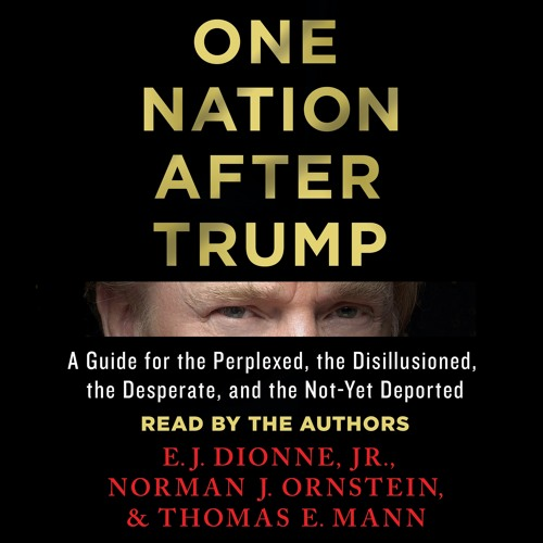 One Nation After Trump, E. J. Dionne Jr, audiobook excerpt
