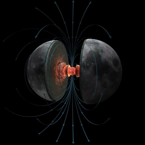 How The Moon Lost Its Magnetism