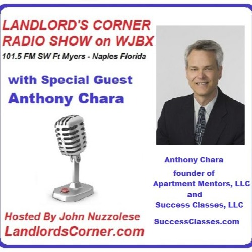 Podcast: LPA Landlord's Corner Radio Show WJBX - Anthony Chara