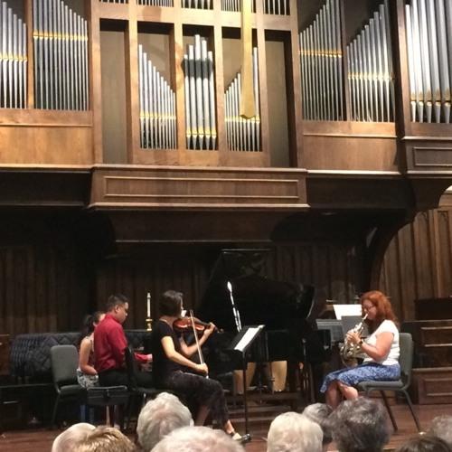 Ewazen - Trio for Violin Horn and Piano