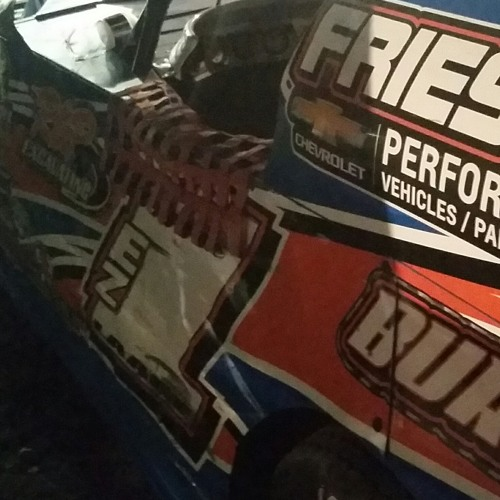 Randy Laage Midwest Modifieds winner at Granite City