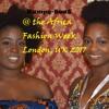 KB @ the Africa Fashion Week London 2017