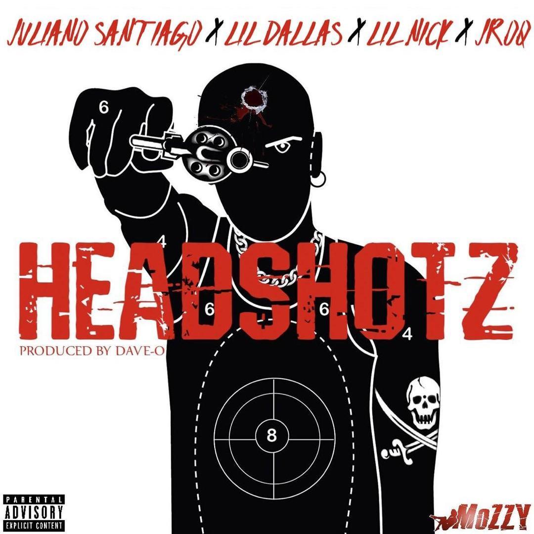 Mozzy Presents Juliano Santiago x Lil Dallas x Lil Nick x JRoq - Headshotz (Prod. Dave-O) [Thizzler.