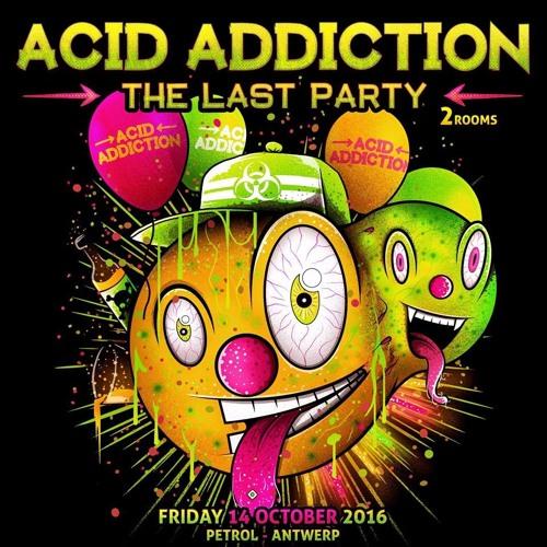FRANKY JONES @ ACID ADDICTION (Last Party @ Petrol - Antwerp) 14.10.16