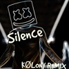 Marshmello ft. Khalid - Silence (KØLONY R3MIX)