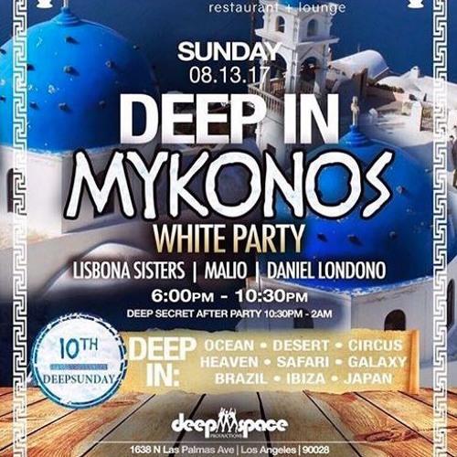 "Liaison Deep Sunday's ""Deep In Mykonos"" White Party// Daniel Londono 8/13/17"